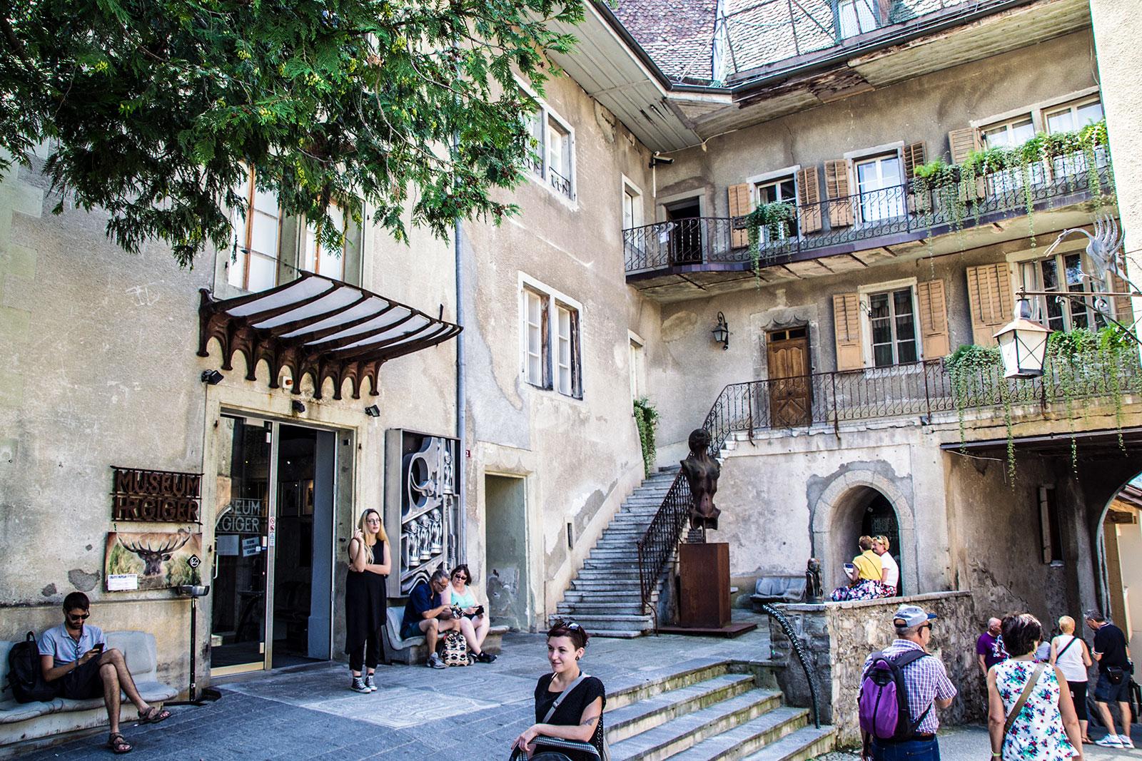 Museo HR Giger - qué ver en Gruyères