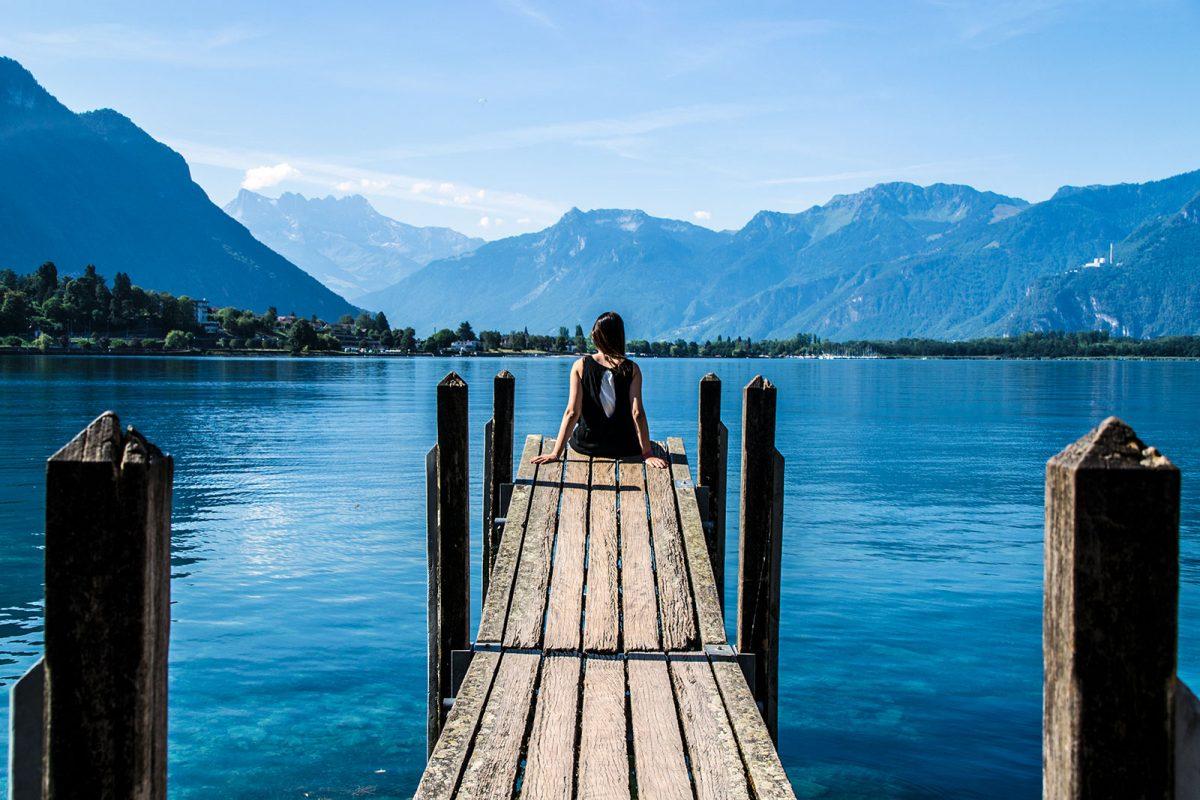 Montreux: la joya del lago Lemán
