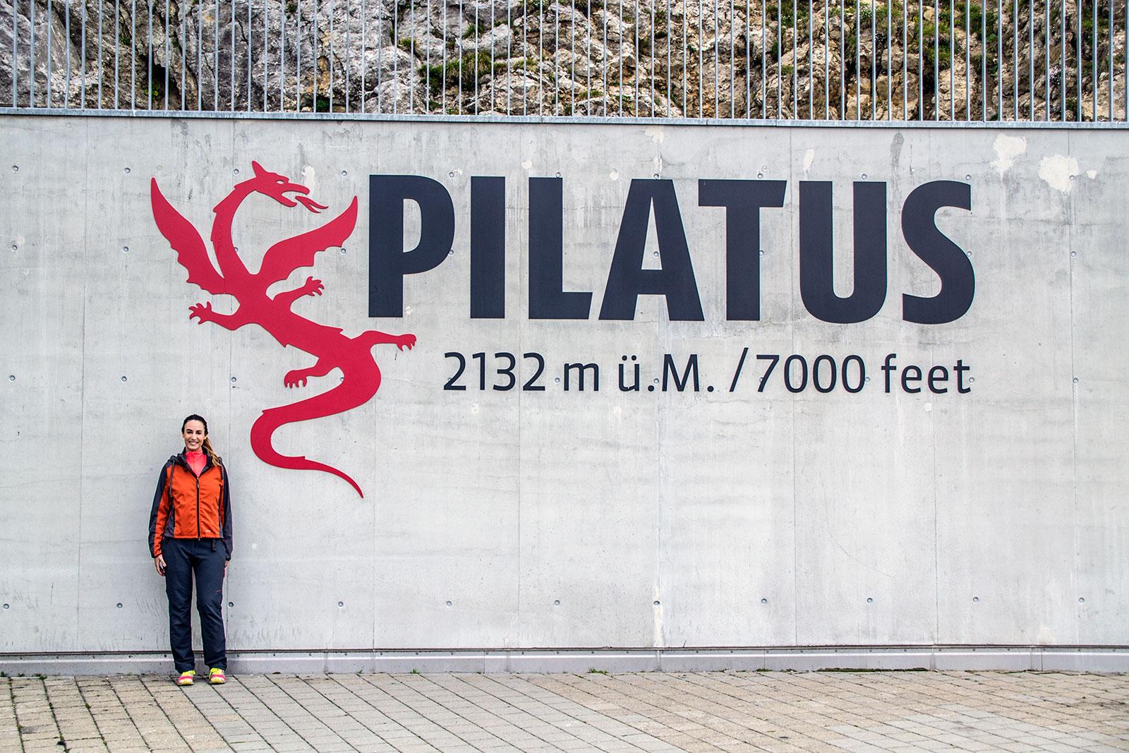 Nerea en el Mt Pilatus