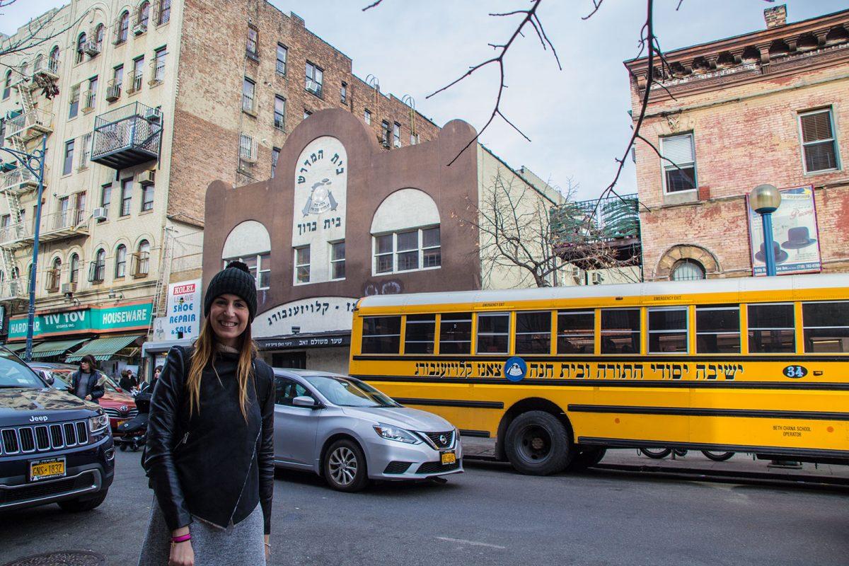 Nerea en el barrio judío en Brooklyn - excursiones desde Nueva York