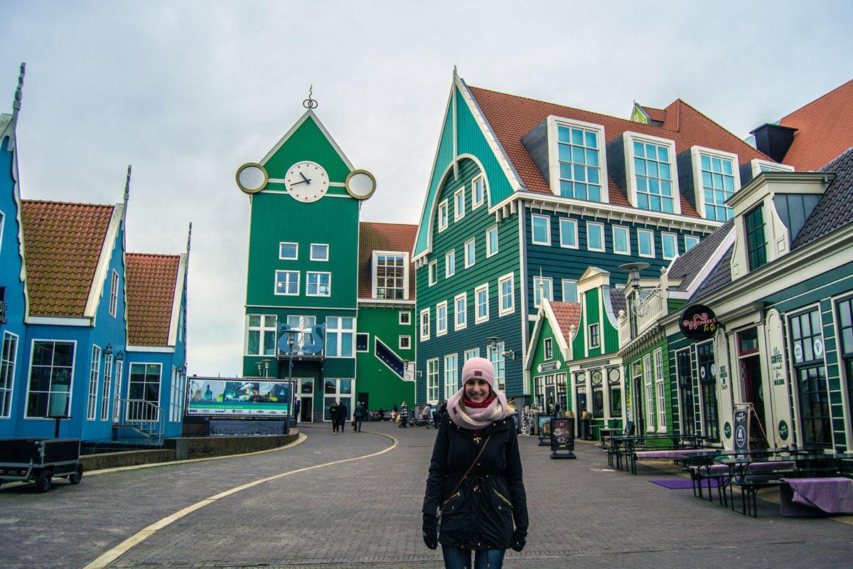Nerea en el hotel Inntel Zaandam