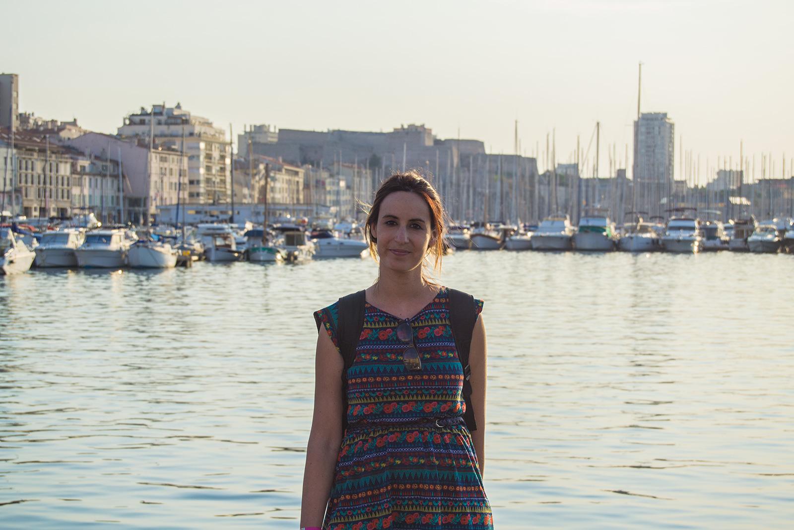 Nerea en el puerto de Marsella