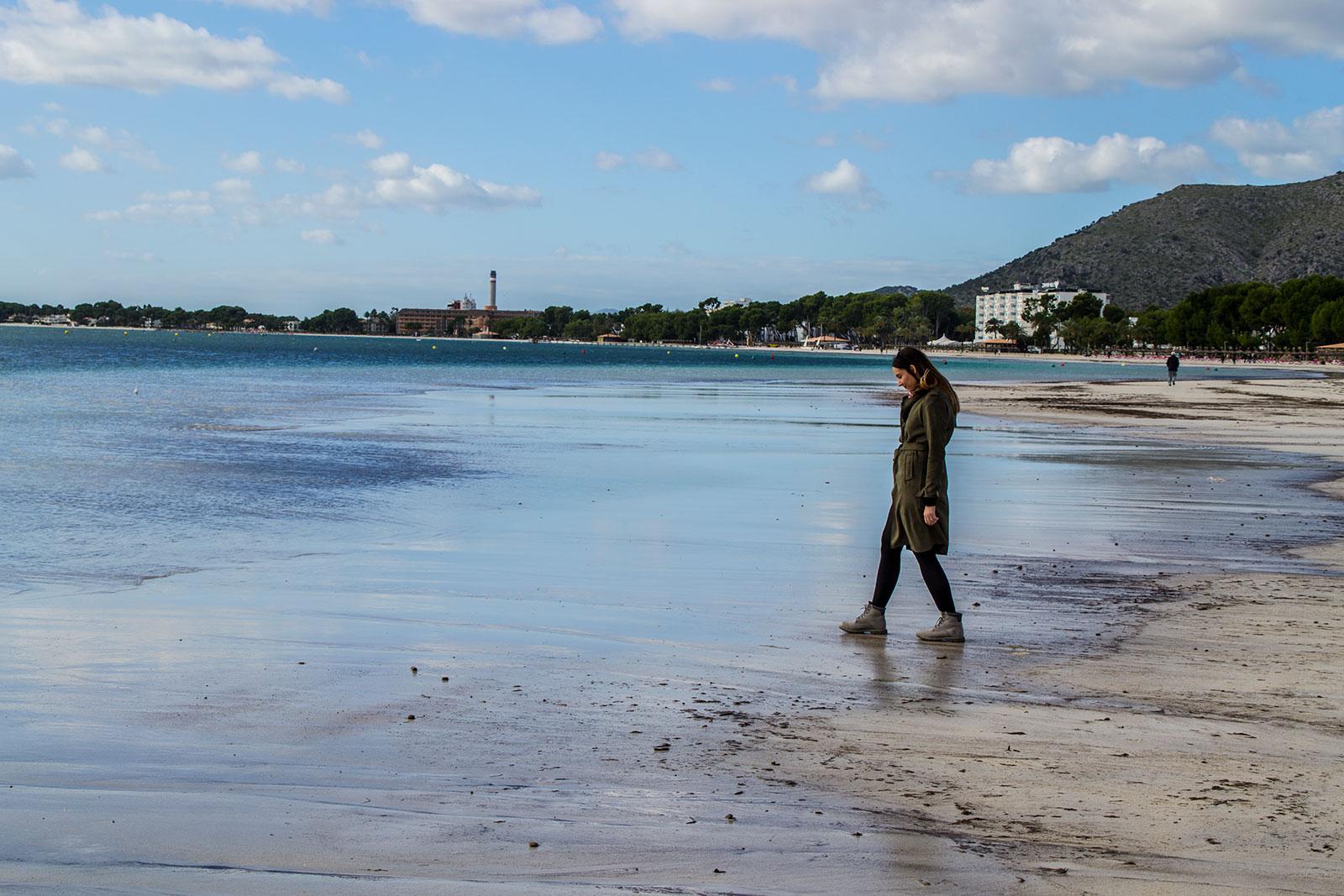 Nerea en el puerto de Pollensa - Pueblos de Mallorca