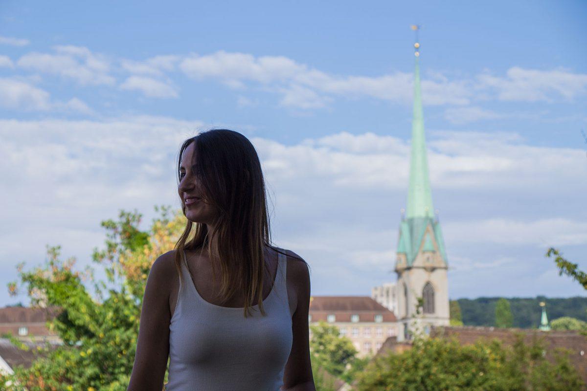 Nerea y Fraumünster Zúrich - que ver en Zúrich
