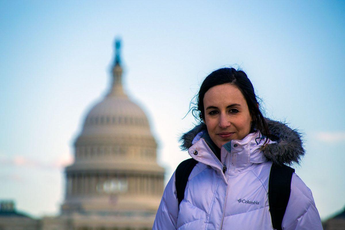 Nerea y el Capitolio - excursiones desde Nueva York