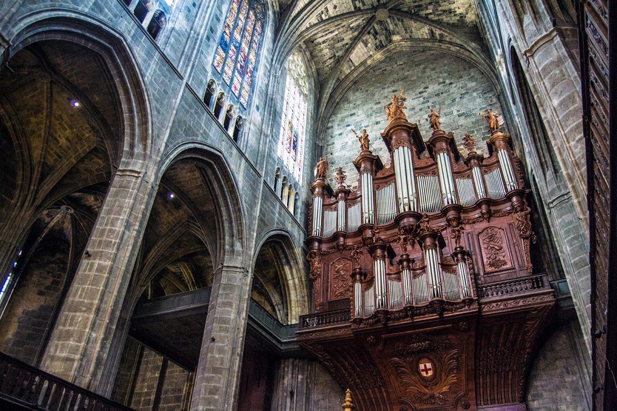 Órgano Catedral de Narbona - qué ver en Narbona