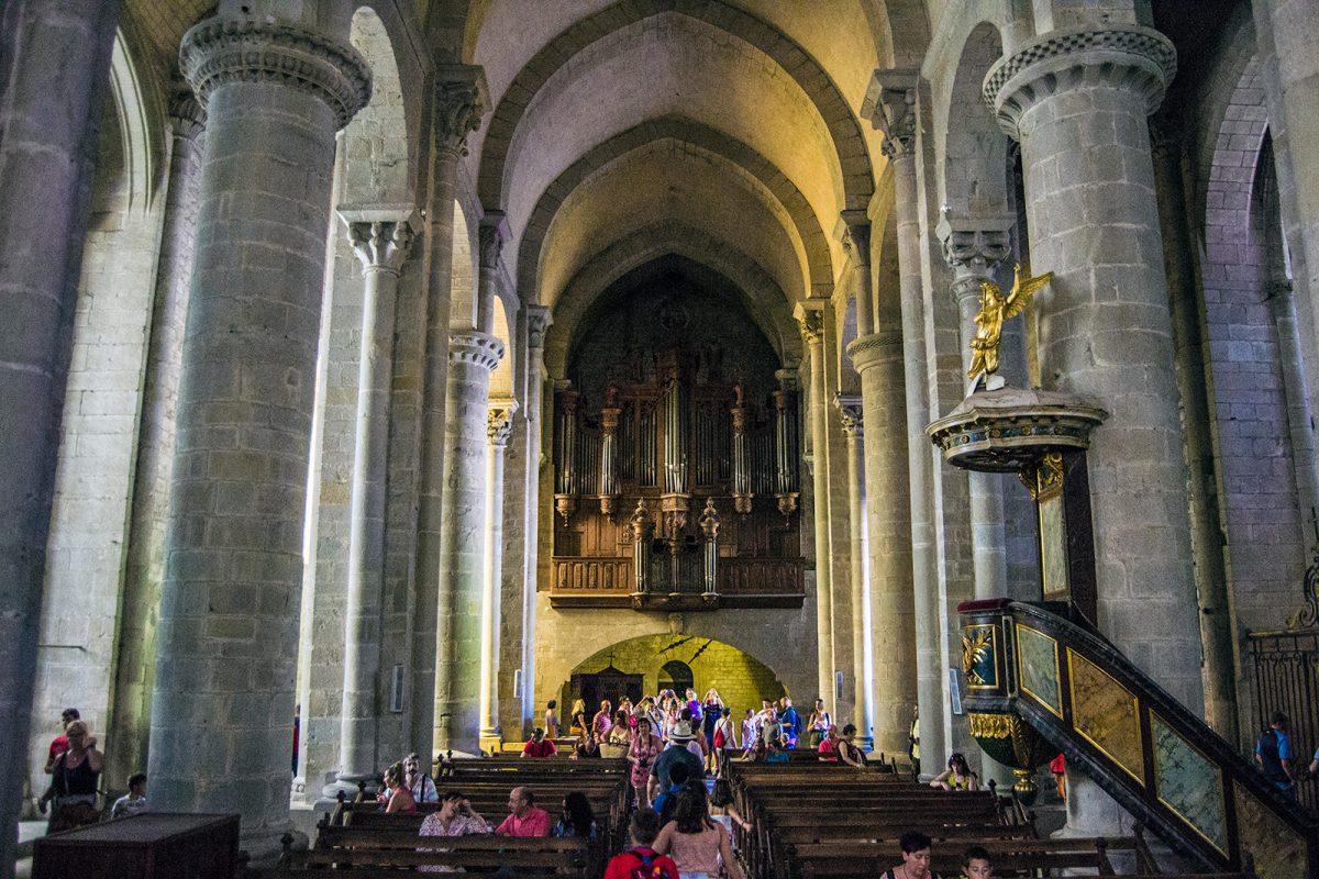 Órgano de la Basílica de Saint-Nazaire - que ver en Carcassonne