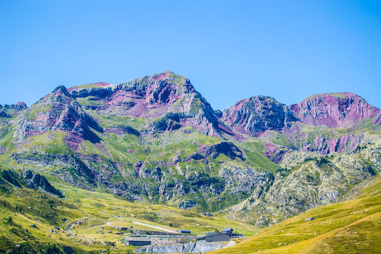 Paisaje Midi-Pyrénées, Francia