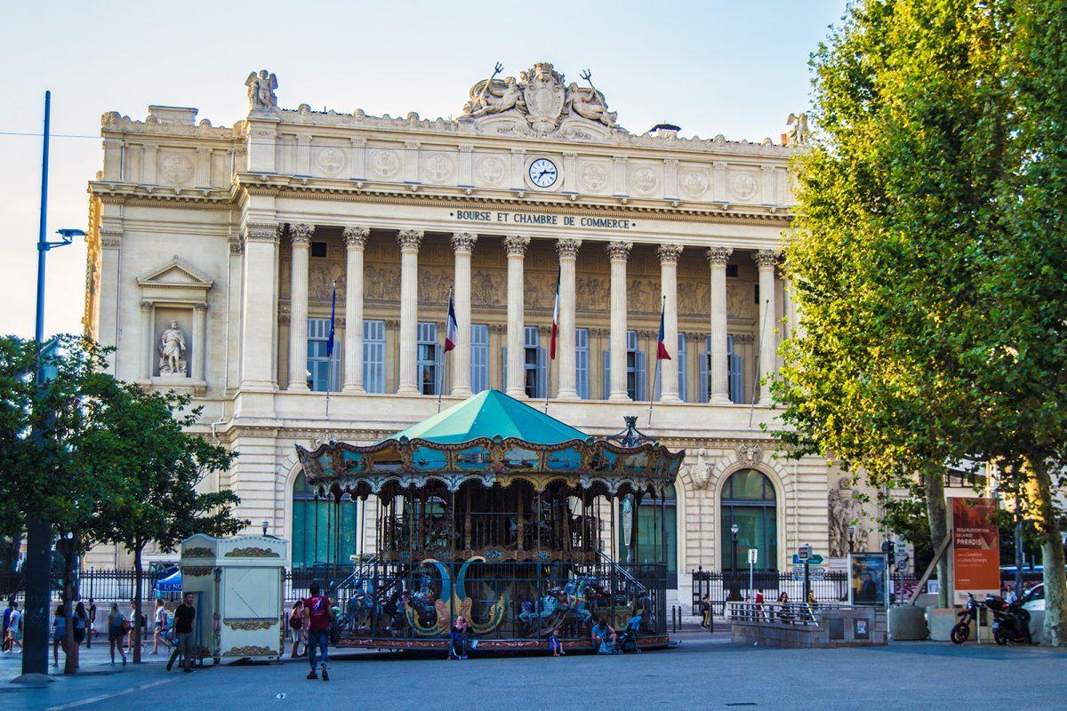 Palacio de la bolsa de Marsella