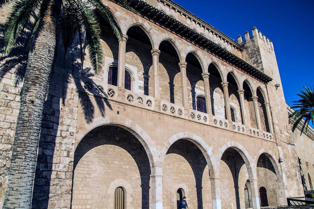 Palacio real de la Almudaina - qué ver en Mallorca