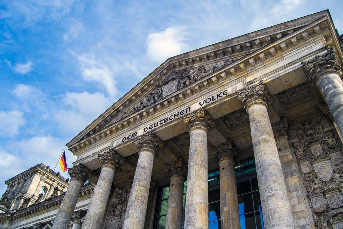 Parlamento alemán o Reichstag 2 - día 4 en Berlín