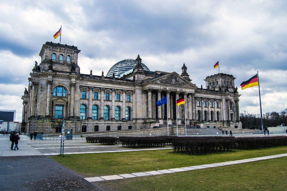 Parlamento alemán o Reichstag - día 4 en Berlín