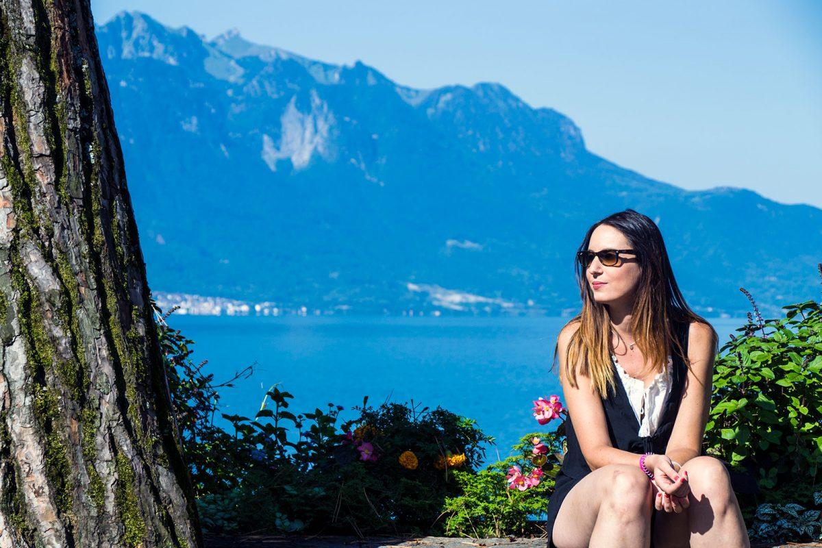 Paseo por el lago Leman en Montreux