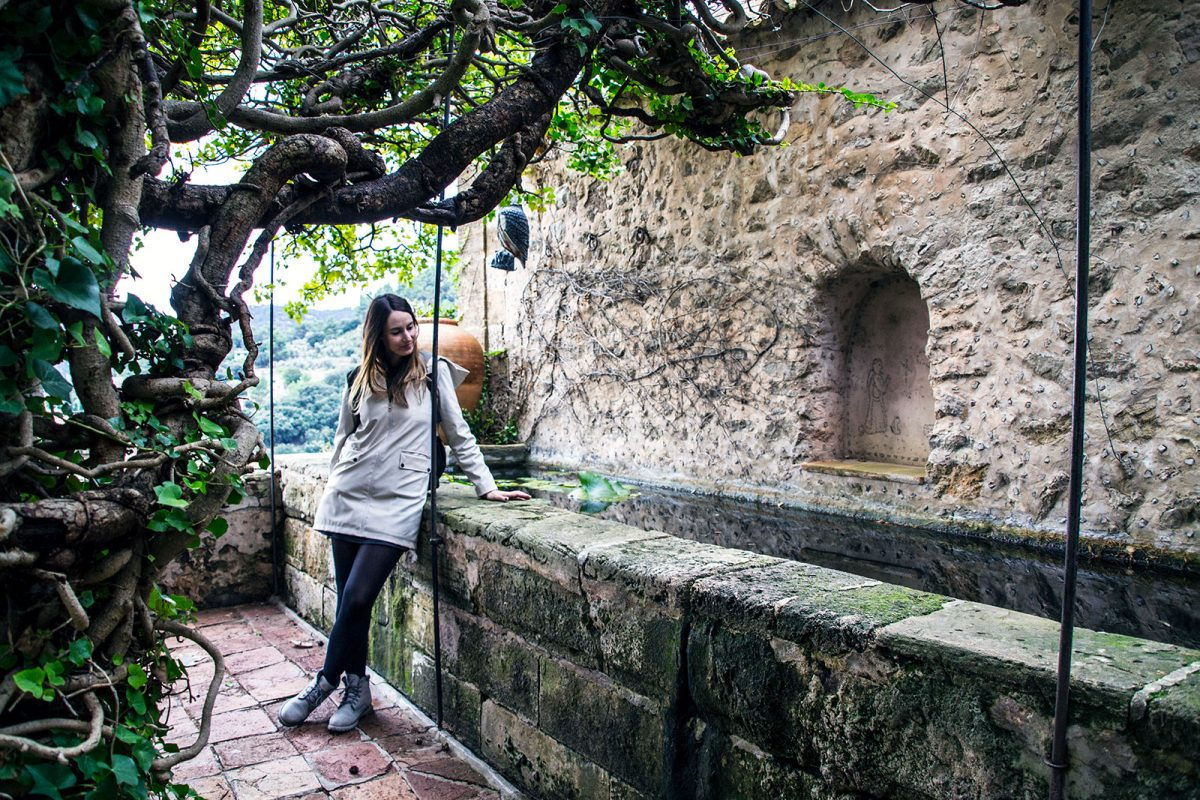Patios del monasterio de Valldemosa - Pueblos más bonitos de Mallorca
