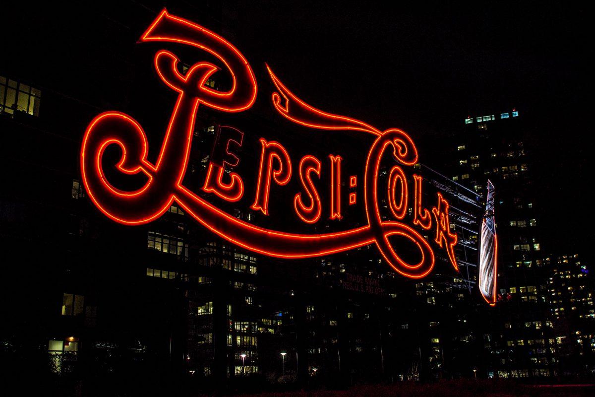 Cartel Pepsi Cola - excursiones desde Nueva York
