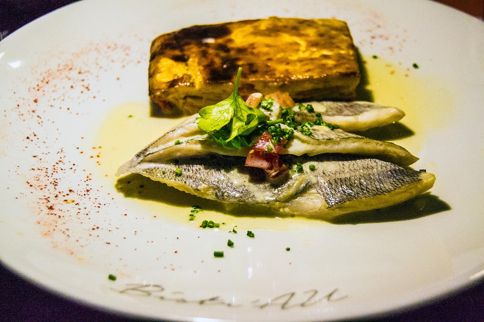 Pescado restaurante Bistr'AU Nimes