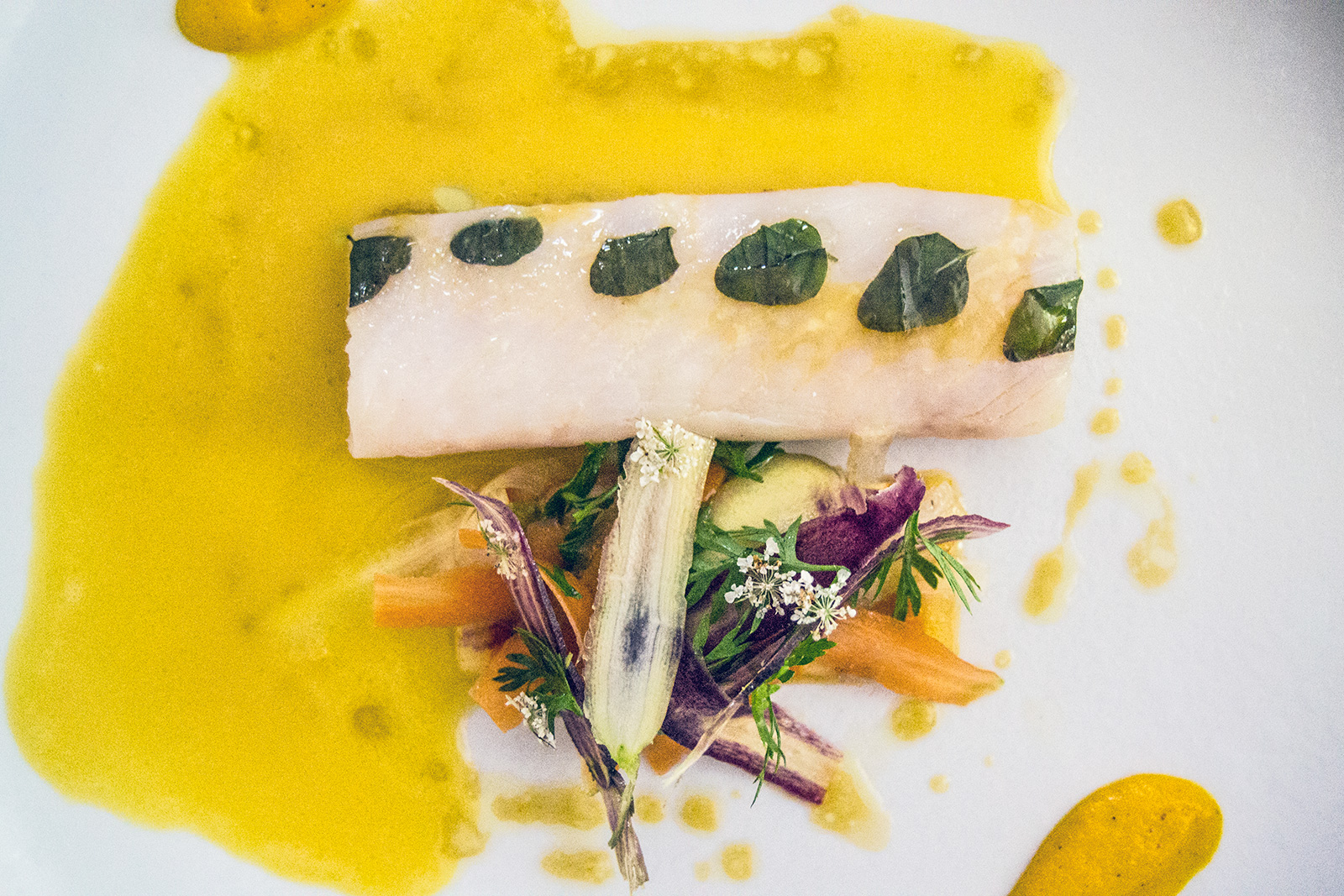 Pescado restaurante Jerôme Nutille