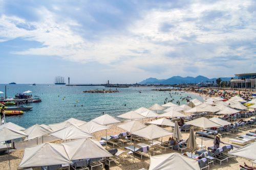 Playa de Cannes - Cannes en un día