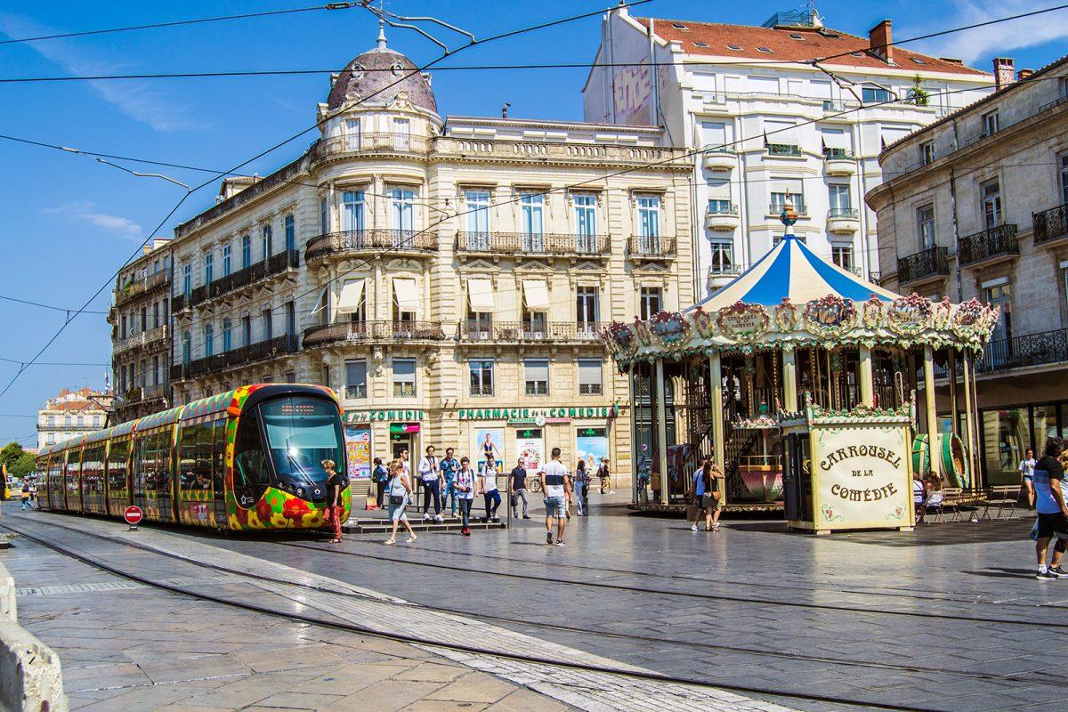 Plaza de la Comedia en Montpellier - qué ver en Montpellier