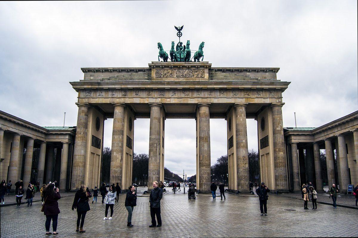 Puerta de Brandemburgo - día 1 en berlín