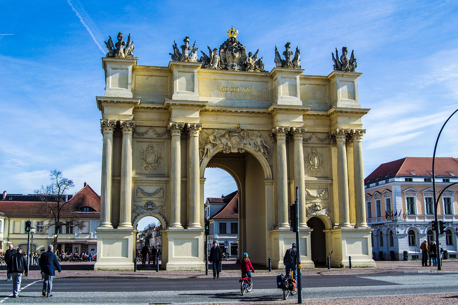 Puerta de Brandemburgo de Postdam - día 3 en Berlín