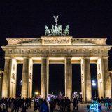 Puerta de Brandemburgo de noche – día 3 en Berlín