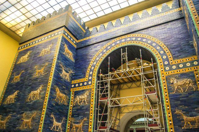Puerta de Istar de Babilonia - día 1 en berlín