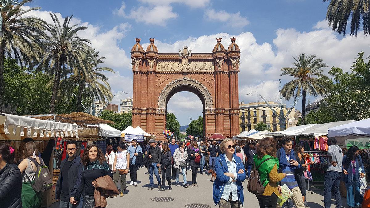 Puerta de la Ciutadella