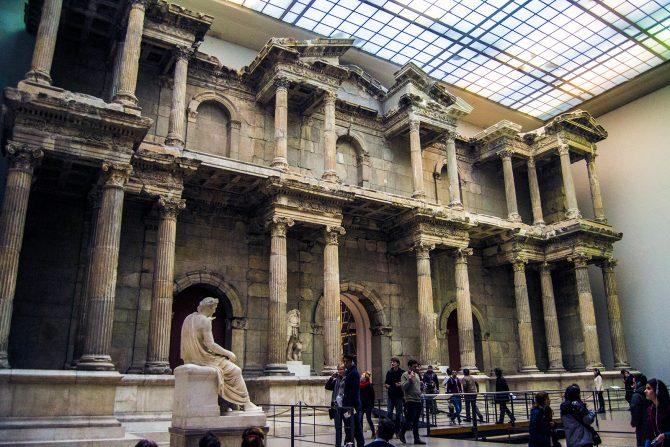 Puerta del mercado romano de Mileto - día 1 en berlín
