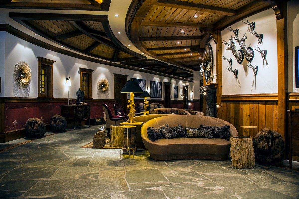 Recepción del Riffelalp Resort 2222m – Zermatt en dos días