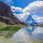 Reflejo del Cervino en el lago Riffelsee - Zermatt en dos días