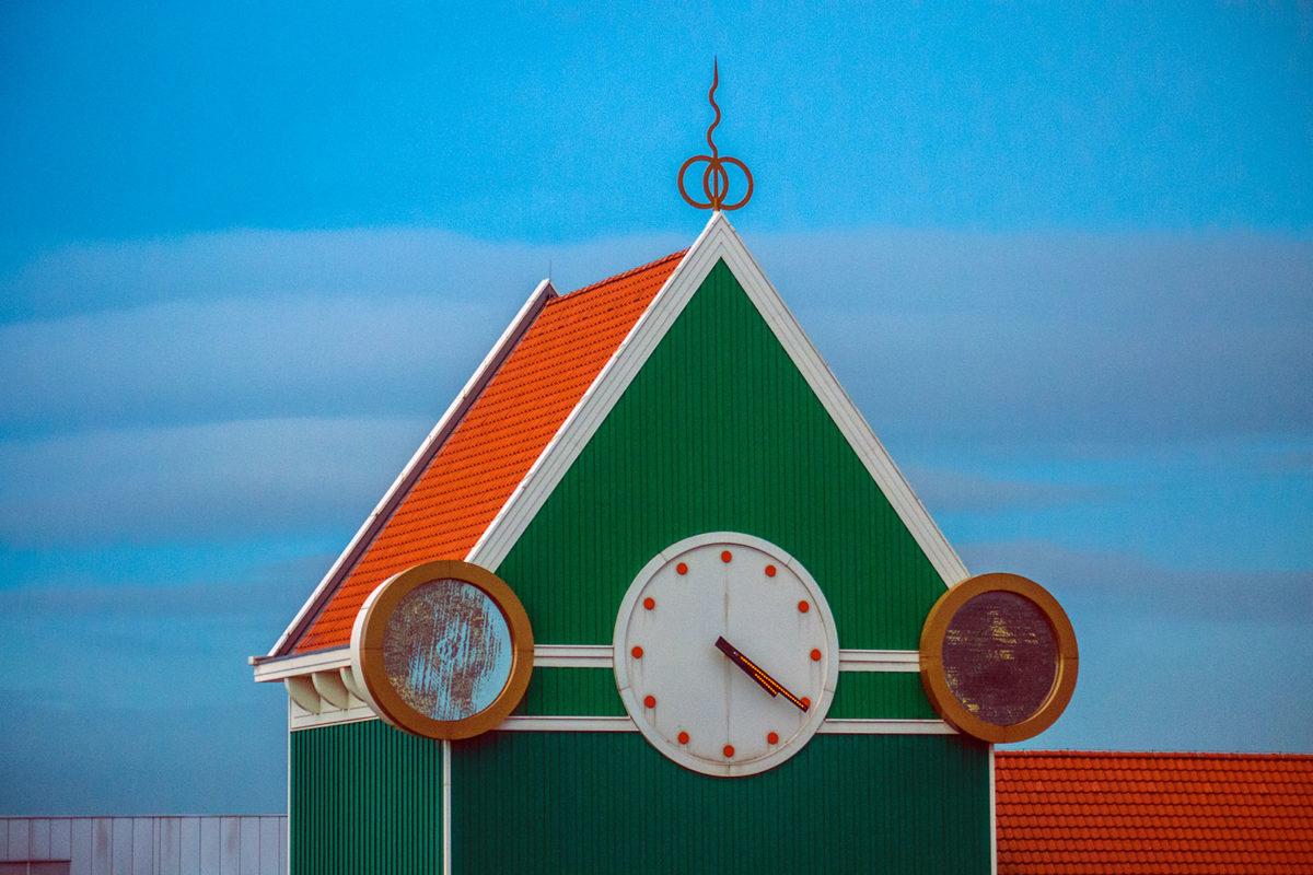 Reloj del hotel Inntel Zaandam