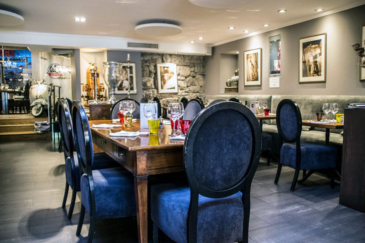 Restaurante La Rouvenaz 2 - Montreux la joya del lago Lemán