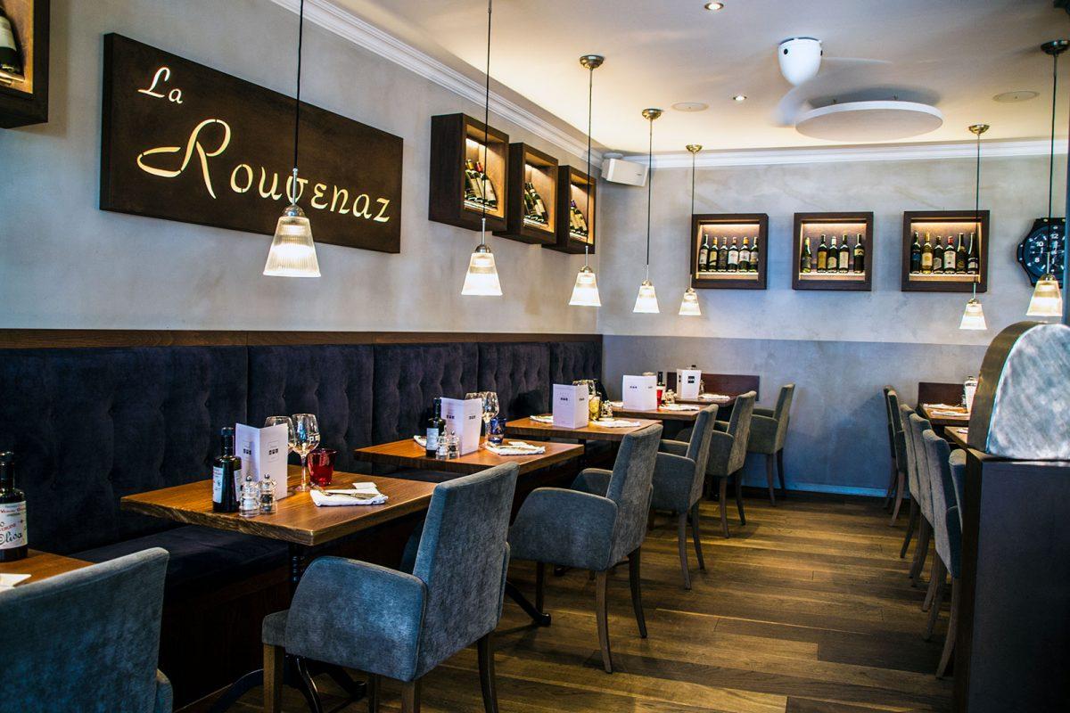 Restaurante La Rouvenaz - Montreux la joya del lago Lemán