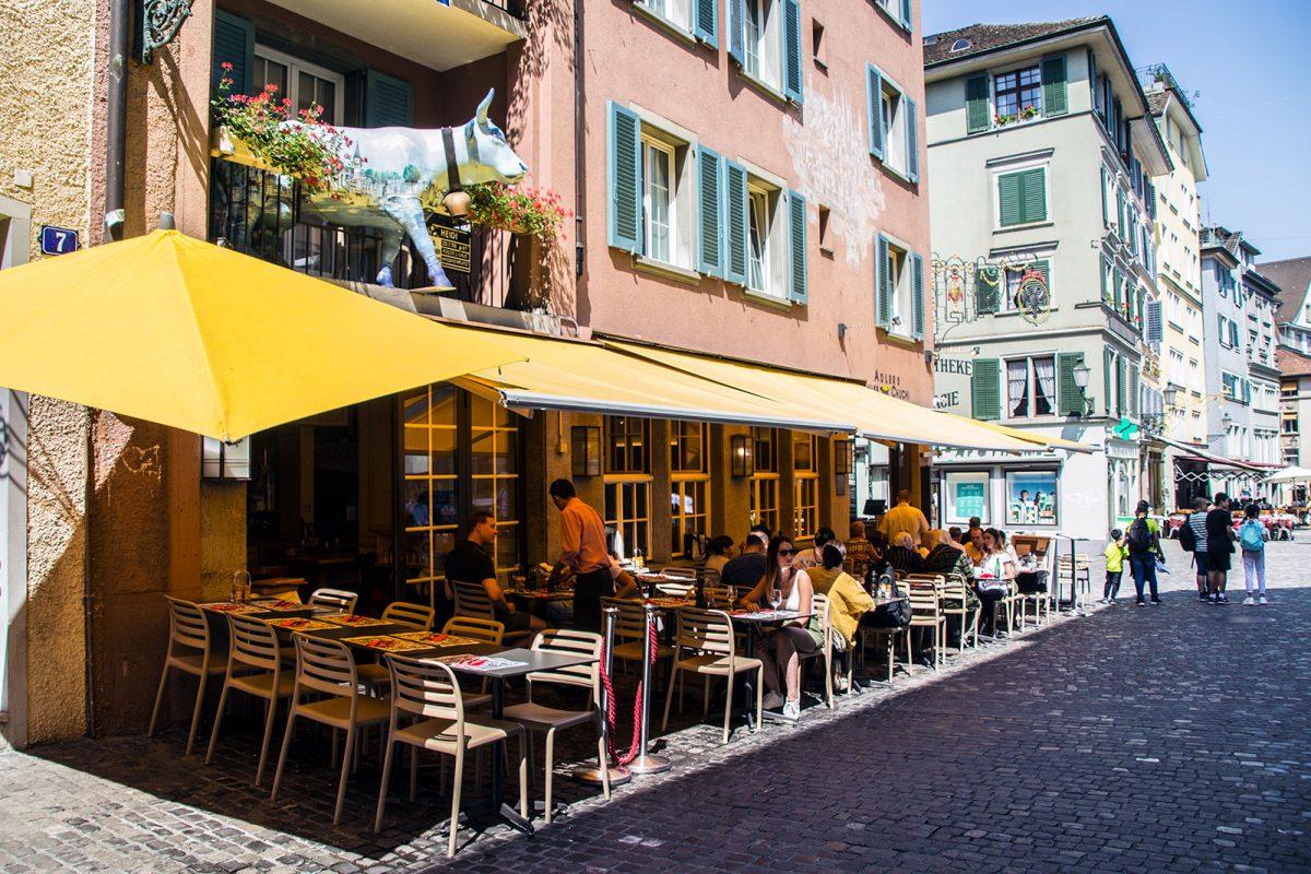 Restaurante de comida típica suiza Swiss Chuchi - qué ver en Zúrich