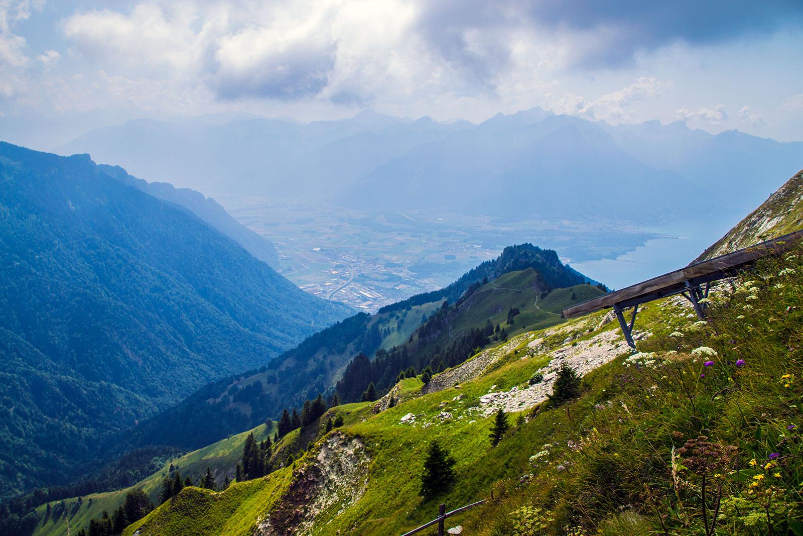 Rochers de Naye 2 - Montreux la joya del lago Lemán