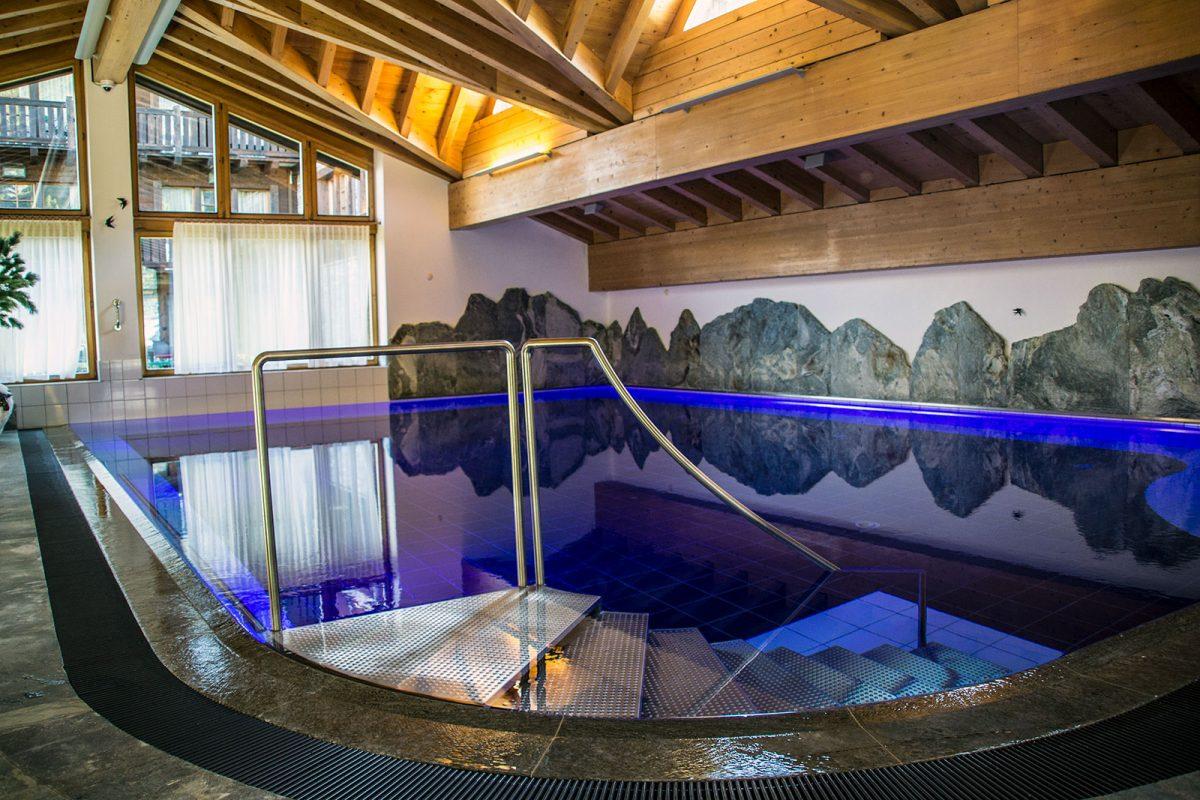 SPA interior del Riffelalp Resort 2222m – Zermatt en dos días