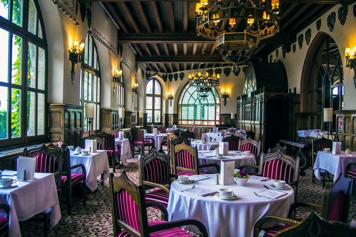 Salón de Desayuno en el Hotel de la Cité Carcassonne