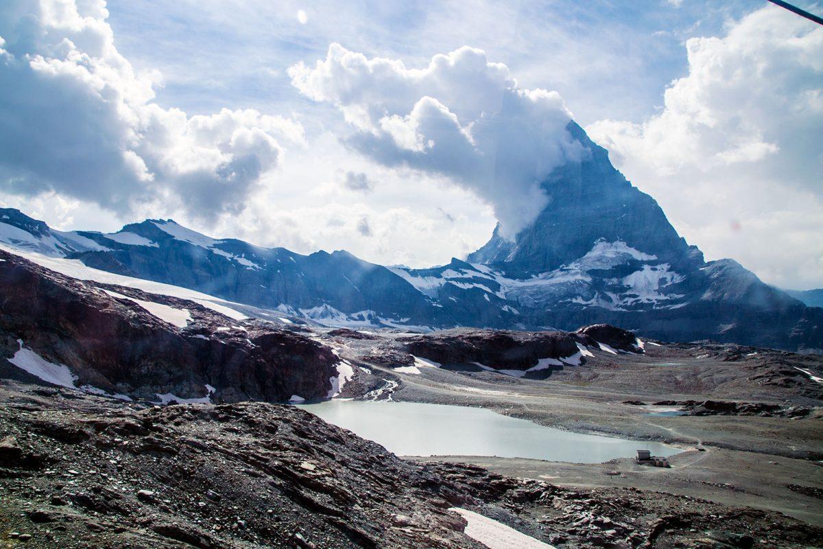 Subiendo hasta la cima del Matterhorn Glacier Paradise