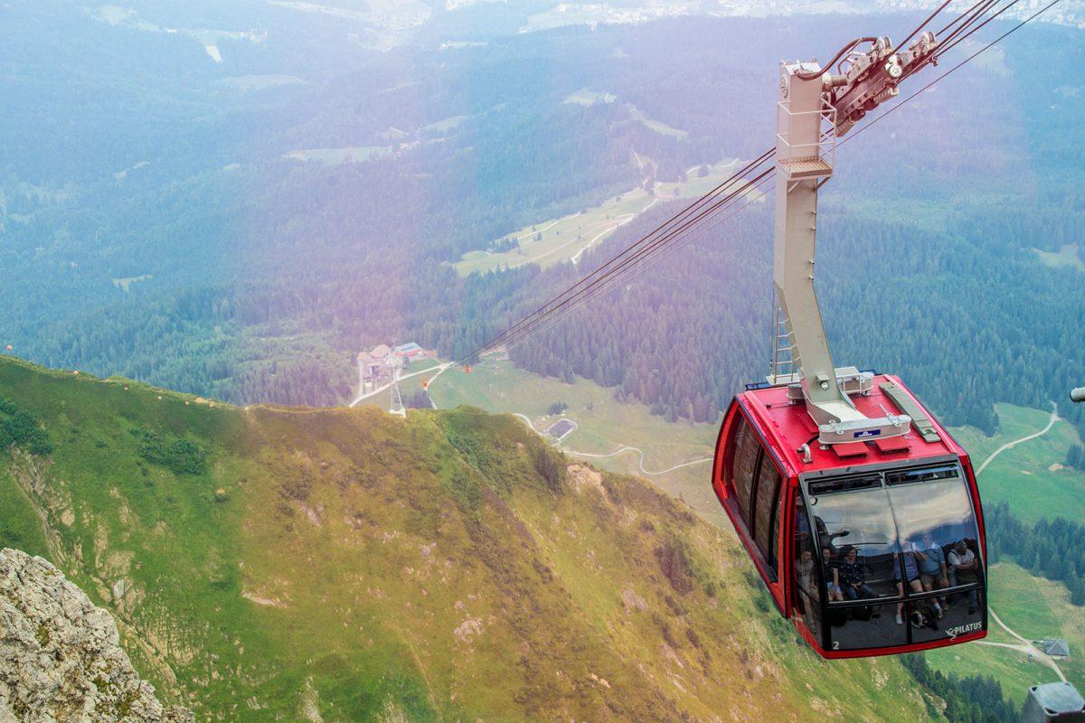 Teleférico Pilatus - tren cremallera Monte Pilatus