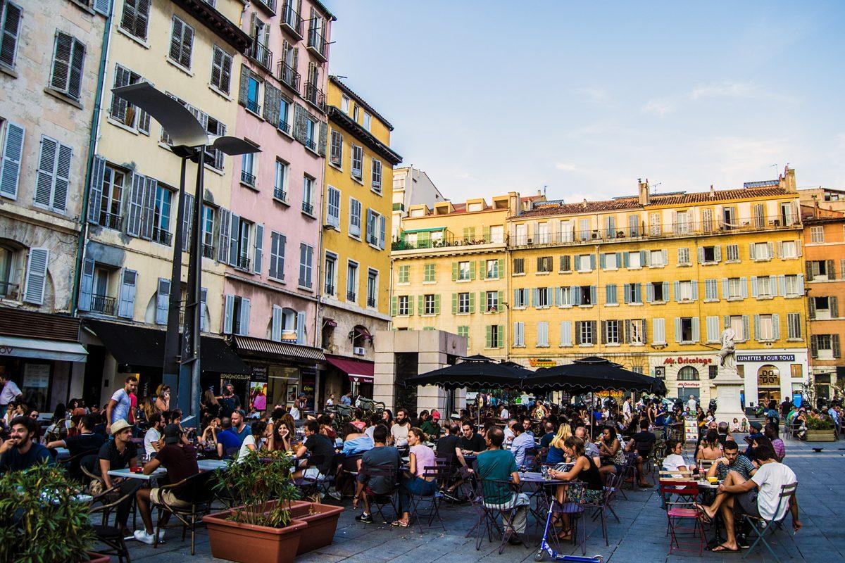 Terraceo en Marsella