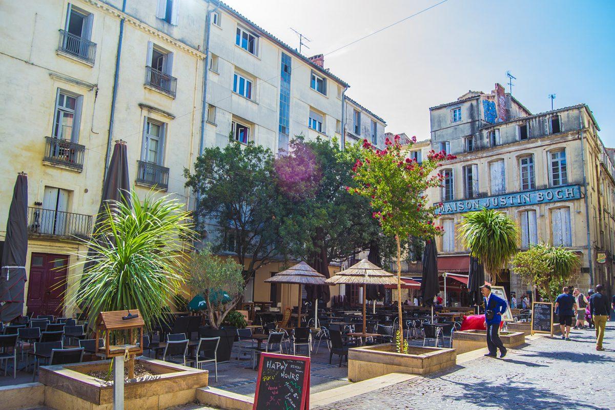 Terraceo en Montpellier - qué ver en Montpellier