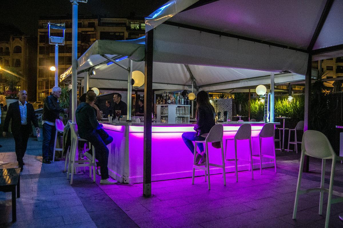Terraza Vice de la discoteca Bataplan