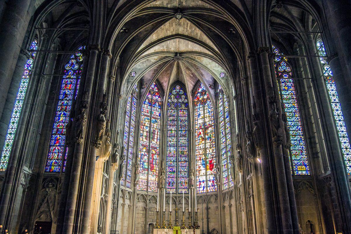 Vidrieras de la Basílica de Saint-Nazaire - que ver en Carcassonne