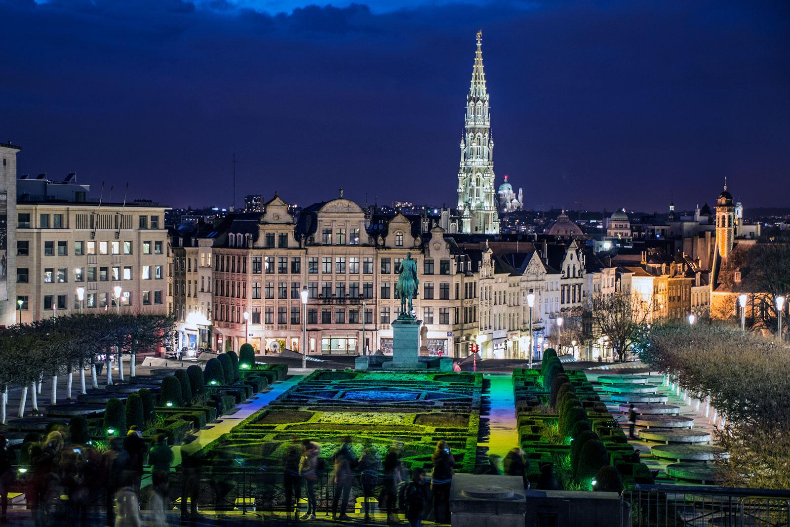 Gofre ligero de bruselas en Chez Leon - que ver en Bruselas