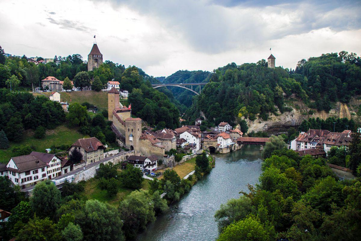 Vistas de Friburgo - qué ver en Friburgo