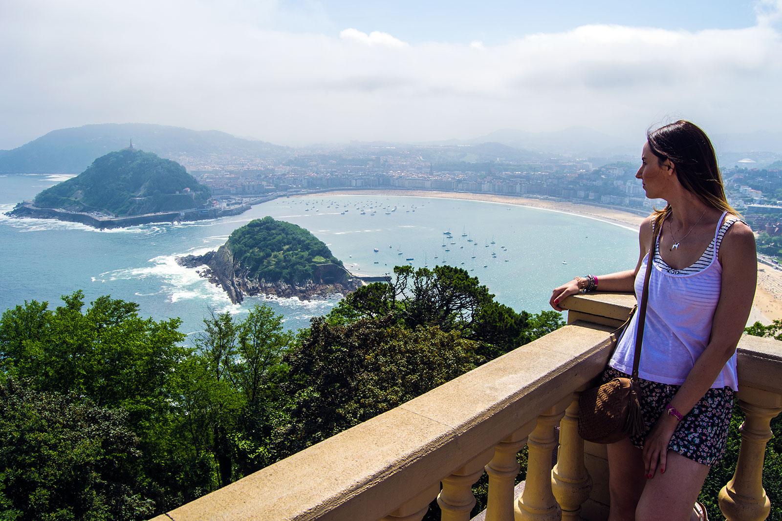 Vistas de La Concha desde el Monte Igueldo