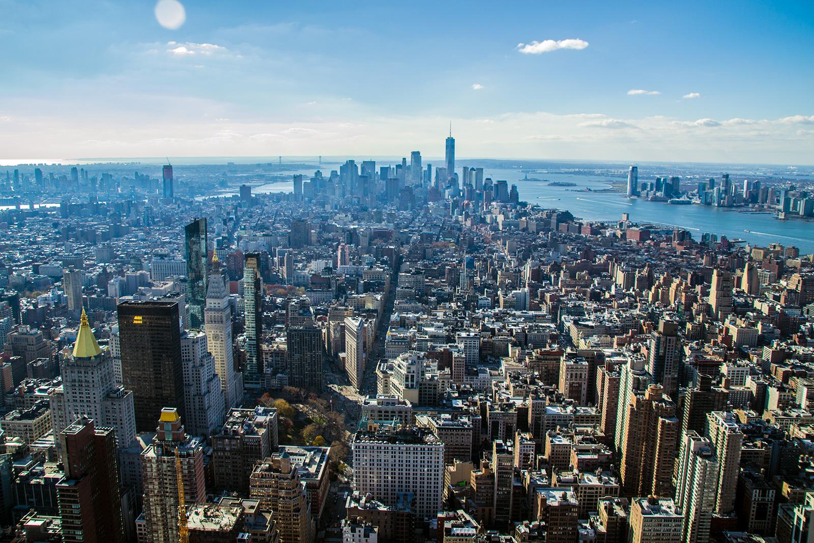 Vistas de Manhattan desde el Empire State Building - Mejores vistas de Nueva York