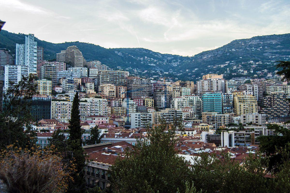"""Vistas de Montecarlo desde """"Le Rocher"""""""
