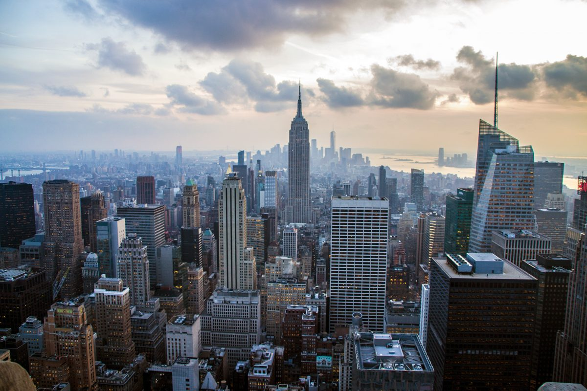 Vistas del Empire desde Top of the Rock - Vistas de Nueva York